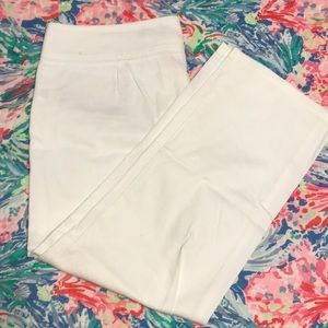 Lilly Pulitzer White Capris
